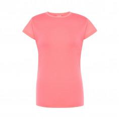 T-shirt Fluo Femme Rose