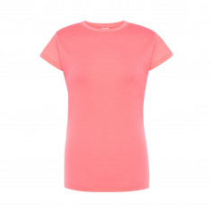 T-shirt Fluo Frau Rose