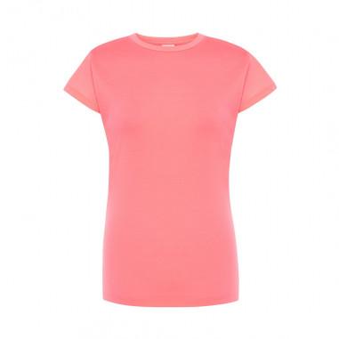 T-shirt Fluo Frau Rose