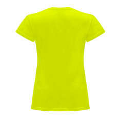 T-shirt-Neon-Gelbe damen