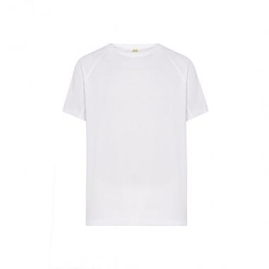 T-shirt Sport Fluo Blanc