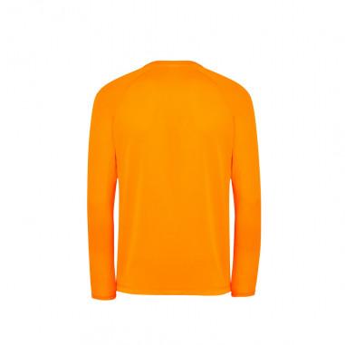 T-Shirt Sport Manches Longues Fluo Orange