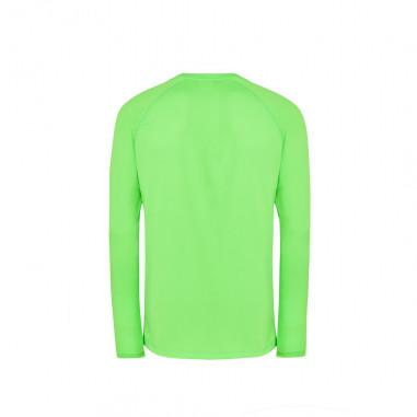 T-Shirt Sport Manches Longues Fluo Vert