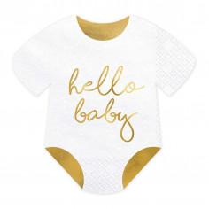 Hallo Baby Handtuch - 20er Set