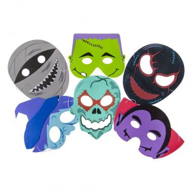Halloween-Maske des Kindes