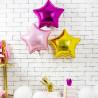 Ballon Aluminium Etoile Rose