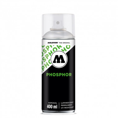Peinture Phosphorescente Invisible - Bombe de 400 ml