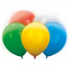 Ballon Led assortis - Lot de 5
