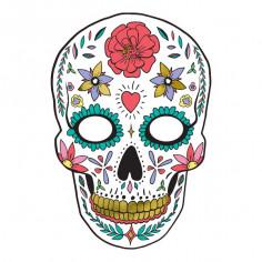 Masque Goodies Dia De Los Muertos