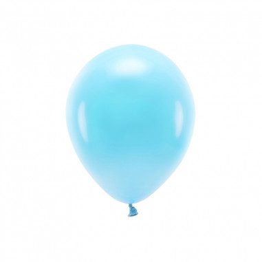 Ballon Biodégradable Bleu - Lot de 10