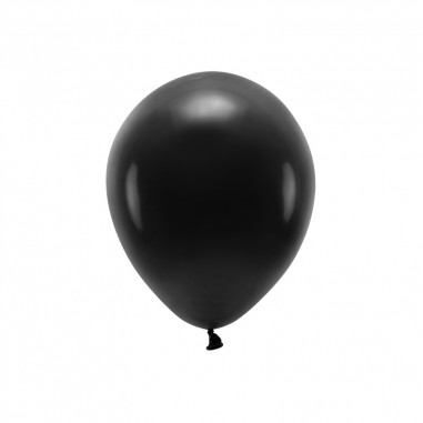 Ballon Biodégradable Noir - Lot de 10