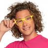 Brille Neon, ohne glas