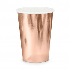Gobelet Rose Gold - Lot de 6