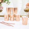 Pailles Rose Gold - Lot de 10