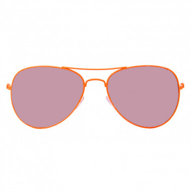 Brille Fluo-Flieger-Fashion