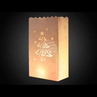 Déco de Noël - Bombe de Neige Phosphorescente
