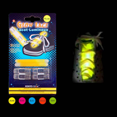 Lacets Fluo Lumineux