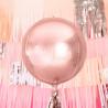 Ballon Aluminium Rose Gold