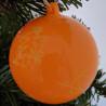 Boule de Noël Fluo - 8 cm