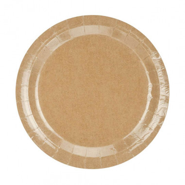 Assiettes Kraft - Lot de 6