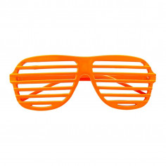 Brille Fluo Gerippt