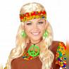 Halskette & Ohrringe Neon-Hippie