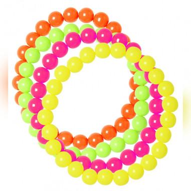 Armband Perle Fluo - 4-er set