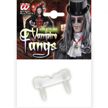Zähne im dunkeln leuchten, Vampir
