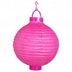 Lampion Led Fluo Pink