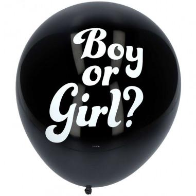 Ballon confettis Géant Gender Reveal - Lot de 3