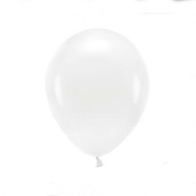 Ballon Biodégradable Blanc - Lot de 10