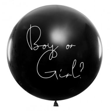 Ballon Confettis Géant Gender Reveal