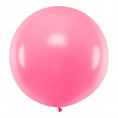 Ballon Géant Rose Fluo