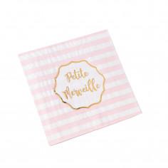 Serviettes Petite Merveille - Lot de 16