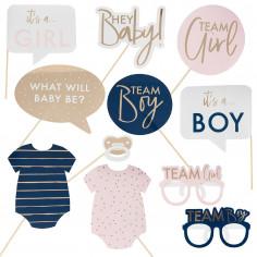 Kit Photobooth Gender Reveal