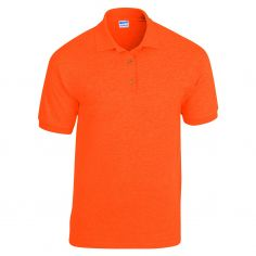 Polo Jersey Orange Fluo