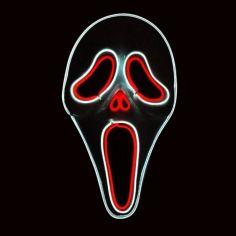 Masque Led Scream