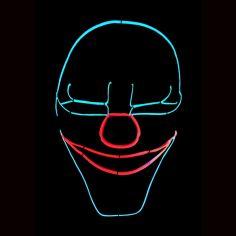 Masque Led Scary
