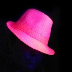 Chapeau Fluo à Sequins