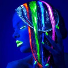 Spray Colorant Fluo pour Cheveux