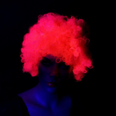 Perruque Fluo Afro