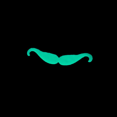 Moustaches Phosphorescentes - Lot de 6