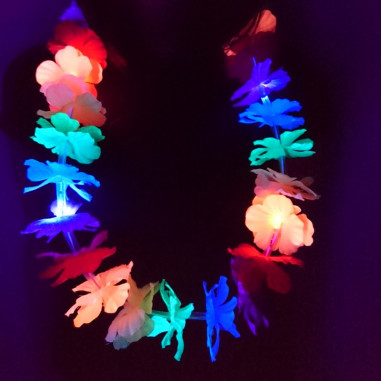 Collier Lumineux Hawaii