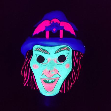 Masque Phosphorescent Halloween pour enfant