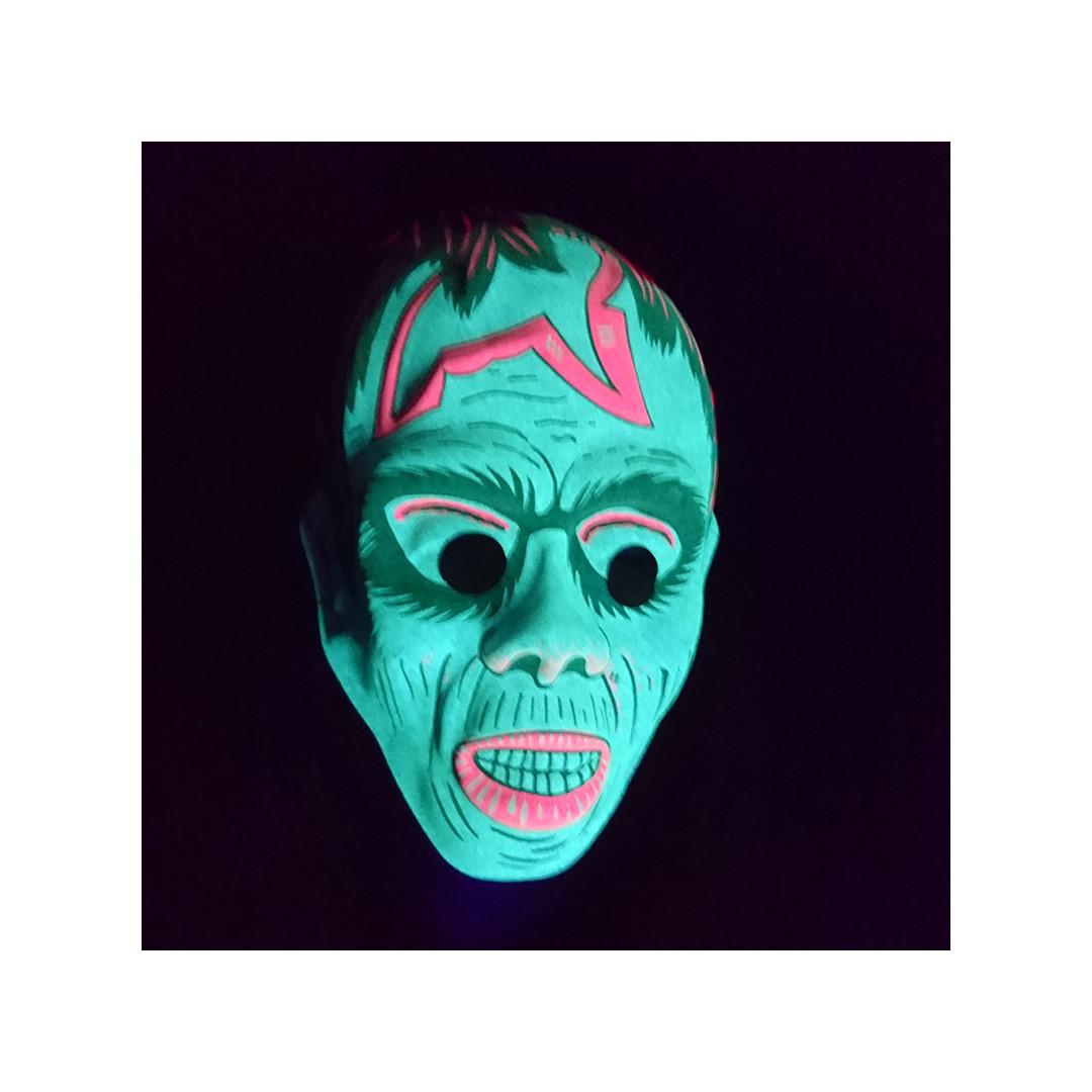 masque phosphorescent monstre pour enfant couleur de nuit. Black Bedroom Furniture Sets. Home Design Ideas