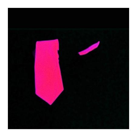Cravate Fluo Courte