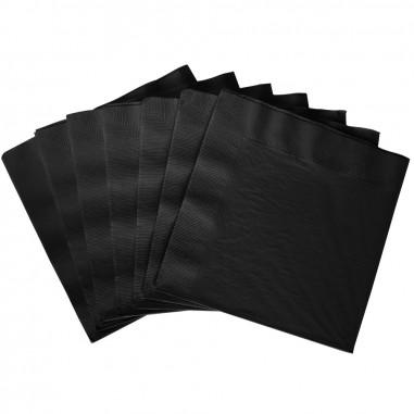 Schwarze Papierservietten - 25er Set