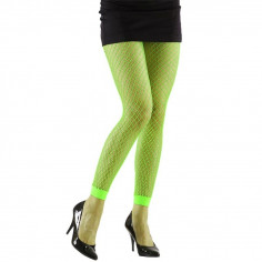Leggings netz neon
