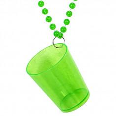 Halskette Fluo Glas zu Schießen