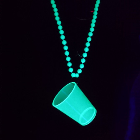 Collier Fluo Verre à Shoot